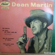 Discos de vinilo: DEAN MARTIN -RIO BRAVO Y 3 MAS -.. Lote 95512371