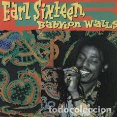 Discos de vinilo: EARL SIXTEEN – BABYLON WALLS 20 10 ARIWA – ARILP074 (MADE IN UK). Lote 95522875