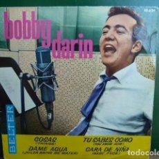 Discos de vinilo: BOBBY DARIN -COSAS -Y 3 MAS. Lote 95533659
