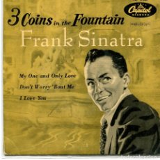 Discos de vinilo: FRANK SINATRA / 3 COINS IN THE FOUNTAIN + 3 (EP 1959). Lote 95546907