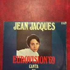 Discos de vinilo: JEAN JACQUES SINGLE DE 1969. Lote 95549682