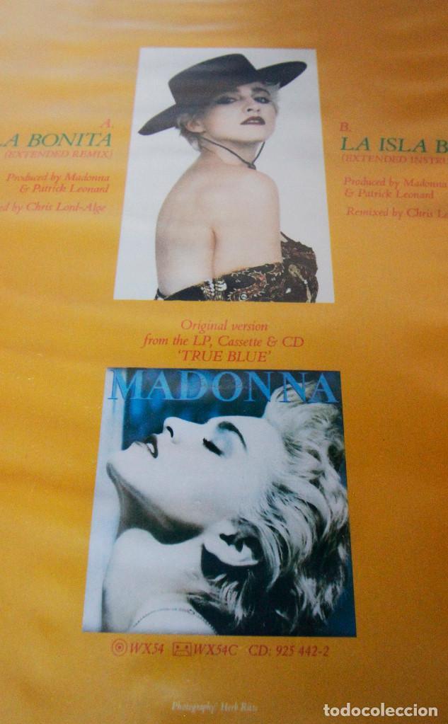 Madonna - La isla bonita - LP Maxi 45 rpm - Sire Records - Año 1987 -  Impecable estado
