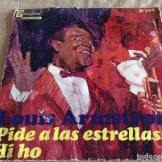 Discos de vinilo: LOUIS ARMSTRONG, PIDE A LAS ESTRELLAS. HISPAVOX 1968. WHEN YOU WISH UPON A STAR. Lote 95555243