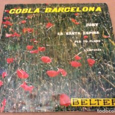 Discos de vinilo: COBLA BARCELONA - JUNY + 3 - EP BELTER 1961. Lote 95573223