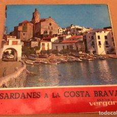 Discos de vinilo: SARDANES A LA COSTA BRAVA : COBLA LAIETANA : BONA FESTA + 3. Lote 95573335