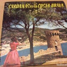 Discos de vinilo: SARDANAS EN LA COSTA BRAVA . COBLA LA PRINCIPAL DE LA BISBAL 1962. Lote 95573463