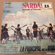 Discos de vinilo: REGIONAL - SARDANAS FOLKLORE DE CATALUÑA VOL 4 (COBLA LA PRINCIPAL DE LA BISBAL) 1960. Lote 95573711
