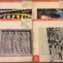 Discos de vinilo: LOTE 4EPS. ANTOLOGÍA DE LA SARDANA. PEP VENTURA, MORERA, BOU, GARRETA. VERGARA 1962. Lote 95574379