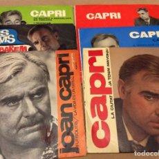 Discos de vinilo: LOTE 6 SINGLES DE CAPRI, MONÓLOGOS Y CANCIONES EN CATALÁN . VERGARA. AÑOS 60. Lote 95574671