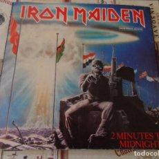 Discos de vinilo: IRON MAIDEN - 2 MINUTES TO MIDNIGHT (SPAIN 1984). Lote 95581995