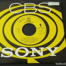 Discos de vinilo: PUBLIC ENEMY - SHUT EM DOWN (PE-TE ROCK MIX) SINGLE PROMO. CBS SONY 1992.. Lote 95587255