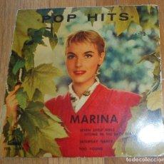 Discos de vinilo: POP HITS, MARINA. Lote 95588231