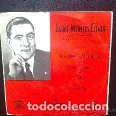 Discos de vinilo: EP JAIME MONTES CONDE : UN ADIOS A MARIQUIÑA ( GALICIA FOLK ) . Lote 95591975