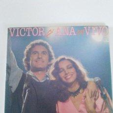 Discos de vinilo: VICTOR MANUEL Y ANA BELEN EN VIVO 2LP ( 1983 CBS ESPAÑA ) . Lote 95592163
