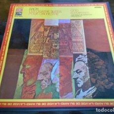 Discos de vinilo: BACH. LES QUATRE SUITES POUR ORCHESTRE. OTTO KLEMPERER. CAJA CON 2 LP'S. 860 GRAMOS.. Lote 95594843