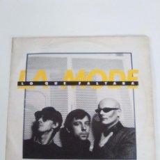 Discos de vinilo: LA MODE LO QUE FALTABA ( 1984 NUEVOS MEDIOS ESPAÑA ) FERNANDO MARQUEZ EL ZURDO. Lote 95598823