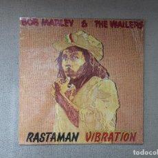 Discos de vinilo: BOB MARLEY & THE WAILERS -RASTAMAN VIBRATION- (1990) LP DISCO VINILO. Lote 95601207