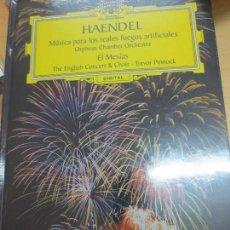 Discos de vinilo: HAENDEL MÚSICA PARA LOS REALES FUEGOS ARTIFICIALES (LIBRO+ 2CD ) Nº 5 AÑO 2005. Lote 95609071