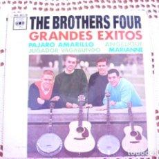 Discos de vinilo: 3 SINGLES DE THE BROTHERS FOUR. Lote 95610123