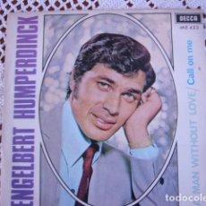 Discos de vinilo: 3 SINGLES DE ENGELBERT HUMPERDINCK. Lote 95612923