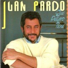 Discos de vinilo: SINGLE JUAN PARDO : QUE PELIGRO TIENE + PERDONA ( DISCO PROMOCIONAL, CON DOBLE CUBIERTA ). Lote 95613431
