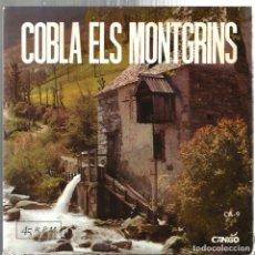 Discos de vinilo: EP SARDANES : COBLA ELS MONTGRINS : TENDRESES . Lote 95614167