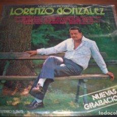 Discos de vinilo: LP DE LORENZO GONZALEZ, MOMENTOS INOLVIDABLES. EDICION MOVIEPLAY DE 1972. D.. Lote 95615263