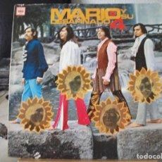 Discos de vinilo: LP DE MARIO Y SU DESAFINADO 4, DCA 632, EDITADO EN MÉXICO, AÑO 1970. Lote 95619771