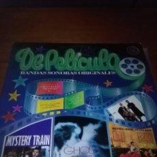 Discos de vinilo: DE PELÍCULA. BANDAS SONORAS ORIGINALES. DOBLE LPS. B15V. Lote 95620391