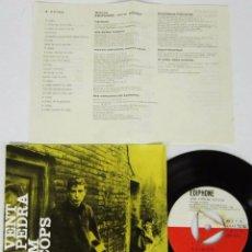 Discos de vinilo: RAIMON - AL VENT + 3 - EP - SERIE ESPECIAL EDIGSA - EDIPHONE 1962 CON LETRAS . Lote 95621231