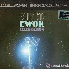 Discos de vinilo: MECO, EWOK CELEBRATION, MAXI-SINGLE SPAIN 1983. Lote 95622043