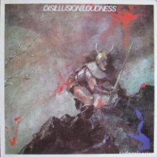 Discos de vinilo: LOUDNESS: DISILLUSION. Lote 95622051
