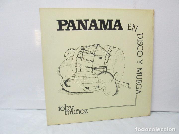 PANAMA EN DISCO Y MURGA. TOBY MUÑOZ. LP VINILO. VER FOTOGRAFIAS ADJUNTAS (Música - Discos - Singles Vinilo - Étnicas y Músicas del Mundo)
