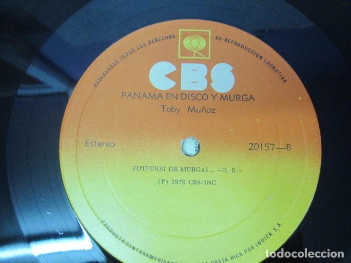 Discos de vinilo: PANAMA EN DISCO Y MURGA. TOBY MUÑOZ. LP VINILO. VER FOTOGRAFIAS ADJUNTAS - Foto 8 - 95623799