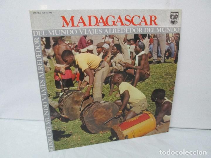 MADAGASPAR. VIAJES ALREDEDOR DEL MUNDO. LP VINILO. PHILPHS 1973. VER FOTOGRAFIAS ADJUNTAS (Música - Discos de Vinilo - Maxi Singles - Étnicas y Músicas del Mundo)