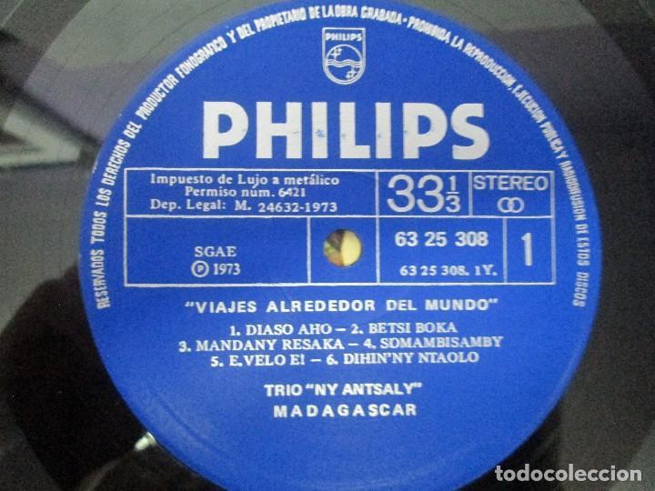 Discos de vinilo: MADAGASPAR. VIAJES ALREDEDOR DEL MUNDO. LP VINILO. PHILPHS 1973. VER FOTOGRAFIAS ADJUNTAS - Foto 4 - 95625883