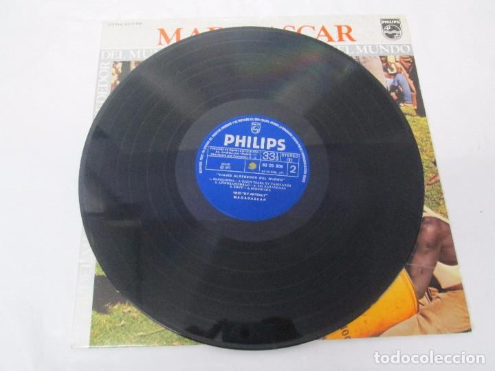 Discos de vinilo: MADAGASPAR. VIAJES ALREDEDOR DEL MUNDO. LP VINILO. PHILPHS 1973. VER FOTOGRAFIAS ADJUNTAS - Foto 5 - 95625883