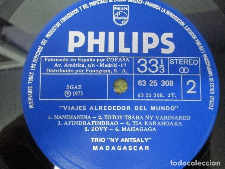 Discos de vinilo: MADAGASPAR. VIAJES ALREDEDOR DEL MUNDO. LP VINILO. PHILPHS 1973. VER FOTOGRAFIAS ADJUNTAS - Foto 6 - 95625883