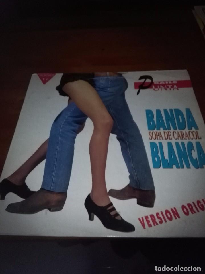 SOLAMENTE CARATULA SIN DISCO. BANDA BLANCA SOPA DE CARACOL. B15V (Música - Discos - LP Vinilo - Otros estilos)