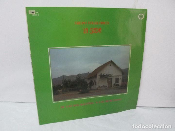 GRUPO FOLKLORICO. LA SEDA. DE LAS MALAGUEÑAS A LAS MURCIANAS. LP VINILO. TECNOSAGA 1983. (Música - Discos - Singles Vinilo - Country y Folk)