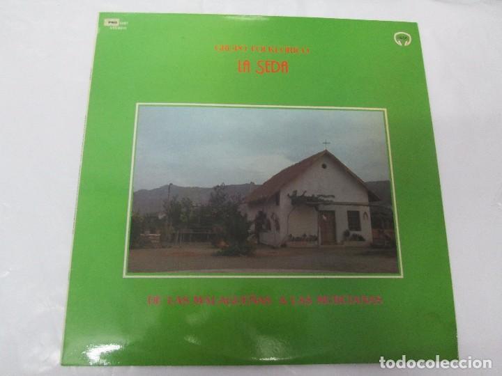 Discos de vinilo: GRUPO FOLKLORICO. LA SEDA. DE LAS MALAGUEÑAS A LAS MURCIANAS. LP VINILO. TECNOSAGA 1983. - Foto 2 - 95626483