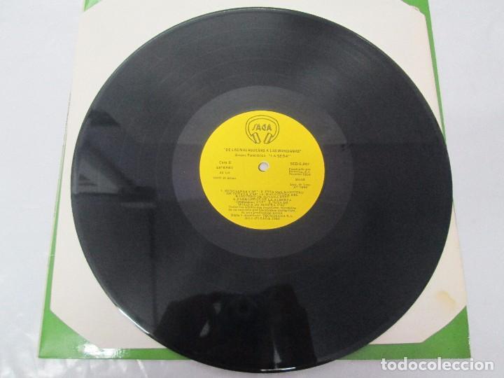 Discos de vinilo: GRUPO FOLKLORICO. LA SEDA. DE LAS MALAGUEÑAS A LAS MURCIANAS. LP VINILO. TECNOSAGA 1983. - Foto 5 - 95626483