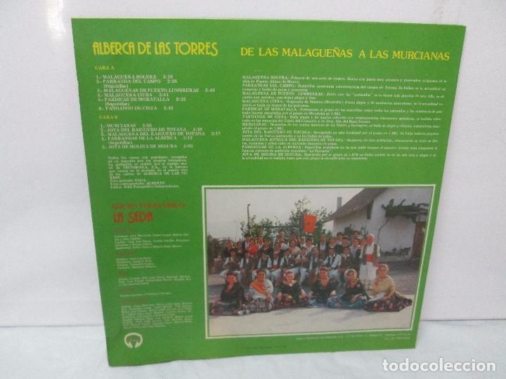 Discos de vinilo: GRUPO FOLKLORICO. LA SEDA. DE LAS MALAGUEÑAS A LAS MURCIANAS. LP VINILO. TECNOSAGA 1983. - Foto 9 - 95626483