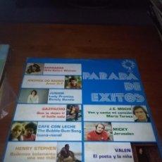 Discos de vinilo: PARADA DE EXITOS. GAZPACHO. BARRABAS. ANDRES DO BARRO... B15V. Lote 95627903
