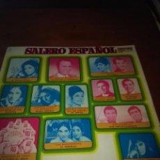 Discos de vinilo: SALERO ESPAÑOL. LOLA FLORES. MANOLO ESCOBAR. PERLITA DE HUELVA. J. VALDERRAMA Y D. ABRIL.. B15V. Lote 95628587