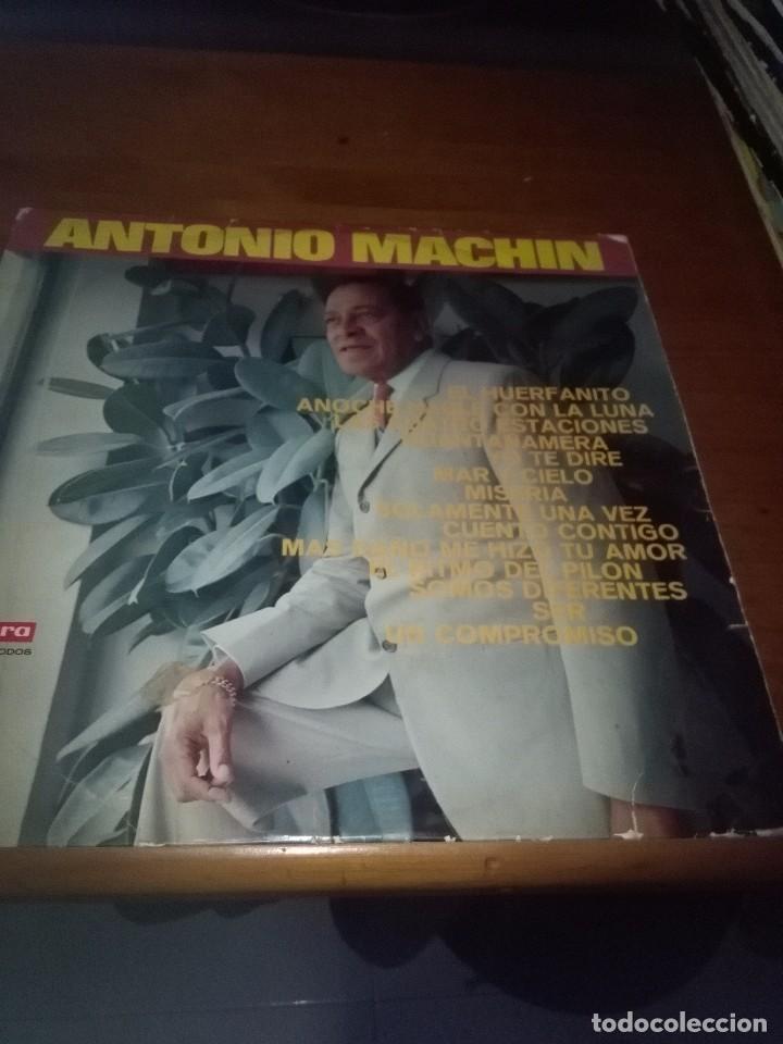 SOLAMENTE LA CARATULA. SIN DISCO. ANTONIO MACHIN. EL HUERFANITO. B15V (Música - Discos - LP Vinilo - Otros estilos)