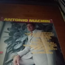 Discos de vinilo: SOLAMENTE LA CARATULA. SIN DISCO. ANTONIO MACHIN. EL HUERFANITO. B15V. Lote 95628727