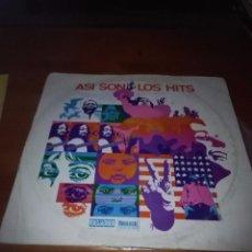 Discos de vinilo: ASI SON LOS HITS. B15V. Lote 95629203