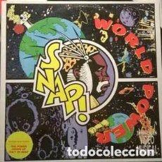 Discos de vinilo: SNAP! – WORLD POWER - LP SPAIN 1990. Lote 95629955