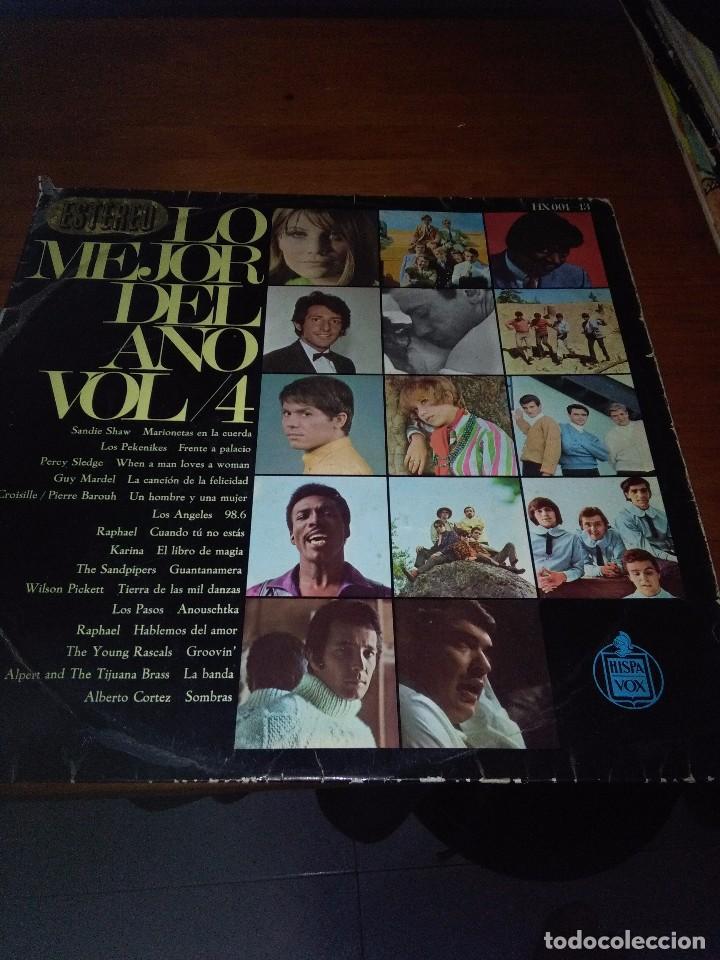 LO MEJOR DEL AÑO.VOL. 4. SOLAMENTE LA CARATULA. SIN CARATULA. B15V (Música - Discos - LP Vinilo - Otros estilos)